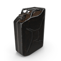Canister Painted Black PNG & PSD Images