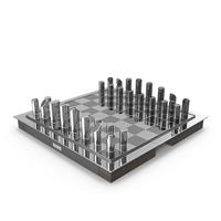 Ralph Lauren Home Sutton Chess Set PNG & PSD Images