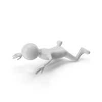 Stickman Swimming PNG & PSD Images