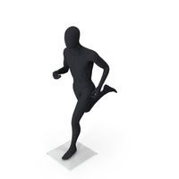 Dark Grey Male Mannequin PNG & PSD Images