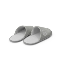 House Slippers Grey PNG & PSD Images