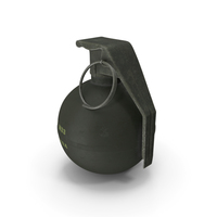 Hand Grenade M33 PNG & PSD Images