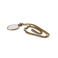 Magnifier on a Chain PNG & PSD Images