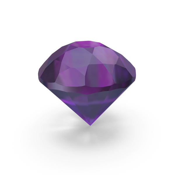 amethyst Diamond PNG & PSD Images