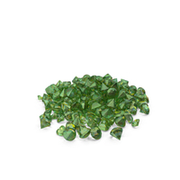 Emerald Pile PNG & PSD Images