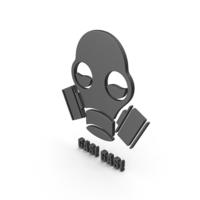 Gas Mask Symbol PNG & PSD Images