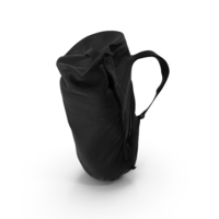 Camping Backpack Large Black PNG & PSD Images