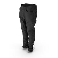 Jeans Black PNG & PSD Images