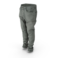 Jeans Grey PNG & PSD Images