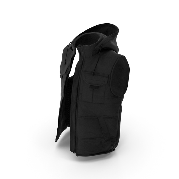 Vest Black PNG & PSD Images