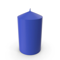 Candle Blue PNG & PSD Images