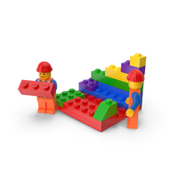LEGO Construction PNG & PSD Images