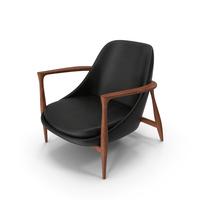 Elisabeth Chair Black PNG & PSD Images
