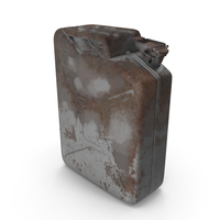 Jerry Can Rusted PNG & PSD Images