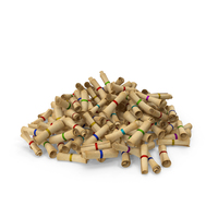 Pile of scrolls PNG & PSD Images