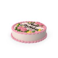 Vanilla Birthday Cake PNG & PSD Images