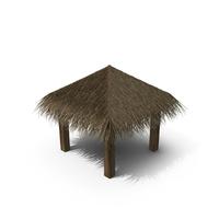 Straw Beach Umbrella PNG & PSD Images