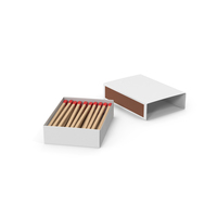 Matchbox With Matches PNG & PSD Images