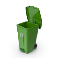 Recycling Bin Open PNG & PSD Images