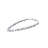 Big Pearls Necklace PNG & PSD Images