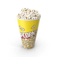 Popcorn Bucket PNG & PSD Images
