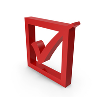 Check Mark Symbol with Box PNG & PSD Images