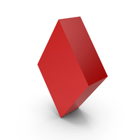 Red Diamond Symbol PNG & PSD Images