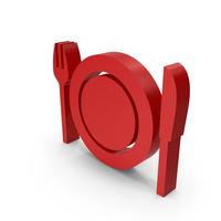 Symbol Dinner Plate PNG & PSD Images