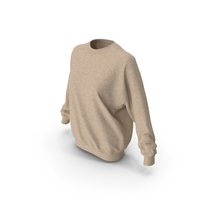 Women's Sweater Beige PNG & PSD Images