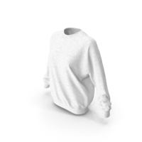 Women's Sweater White PNG & PSD Images