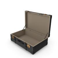Retro Suitcase Black PNG & PSD Images