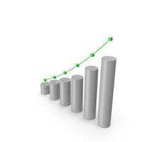 Financial Market Crowth Chart PNG & PSD Images