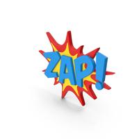 Superhero Comic Text Bubble ZAP! PNG & PSD Images