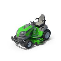 Husqvarna Garden Tractor green PNG & PSD Images
