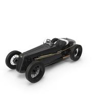 1930 Austin Seven Special Monoposto Black PNG & PSD Images