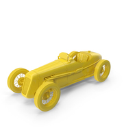 1930 Austin Seven Special Monoposto True  Yellow PNG & PSD Images