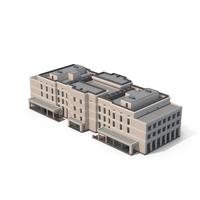 Hospital Beige Building PNG & PSD Images