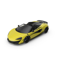 Sports Car Yellow PNG & PSD Images