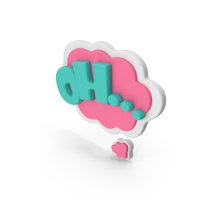 Speech Bubble OH PNG & PSD Images