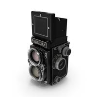 Rolleiflex TLR Film Camera PNG & PSD Images