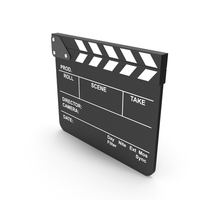 Black Movie Clapboard PNG & PSD Images