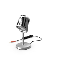 Classic Studio Microphone PNG & PSD Images