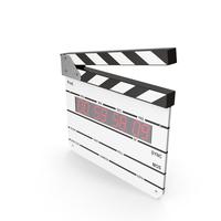 Digital Clapboard PNG & PSD Images