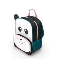 Kid's Backpack Panda PNG & PSD Images