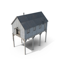 Suspended Barn PNG & PSD Images