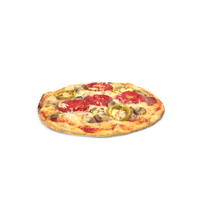 Small Size Pizza PNG & PSD Images