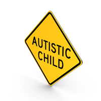 Autistic Child Ocean County New Jersey Road Sign PNG & PSD Images