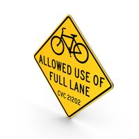 Bike Lane San Francisco Road Sign PNG & PSD Images
