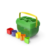 Baby Blocks Shape Sorter Toy PNG & PSD Images