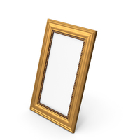 Gold Photo Frame PNG & PSD Images